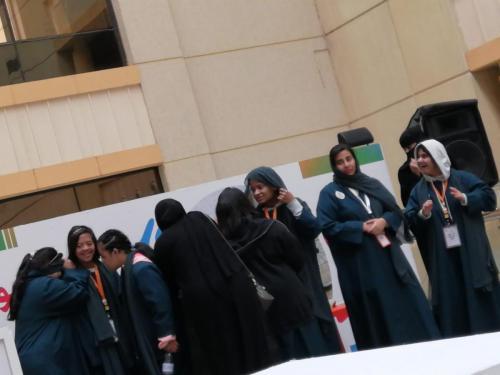 فعالية اليوم العالمي للإعاقة في مستشفى الملك خالد الجامعي ٢٠١٩/١٢/٩